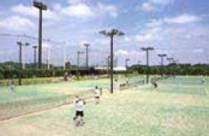 ふれあい坂田池公園テニスコート(横芝光町)
