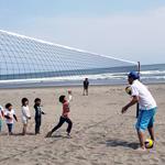 7/28ビーチバレー体験at九十九里浜・屋形海岸