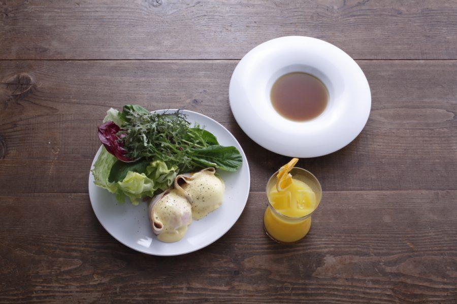 とっておきの日の朝食 エッグベネディクト